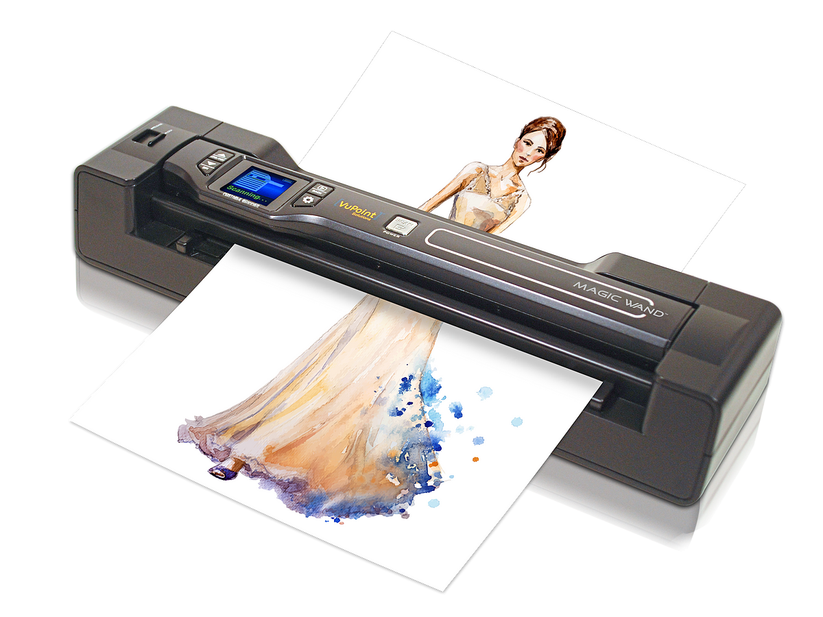 Vupoint ST470 Receipt Scanner