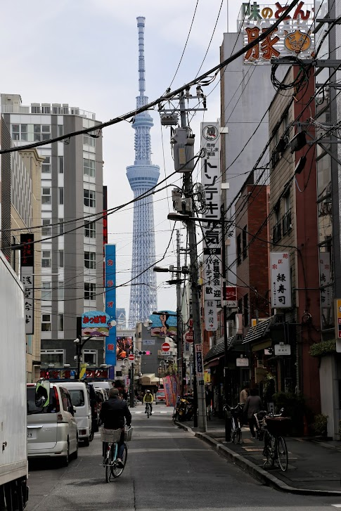 Skytree, Tokio, Japonia