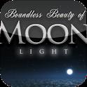 HD moonlight sky flight live icon