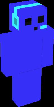 esse é um slime azulzinho