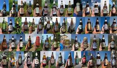 Photo: W sumie podczas tej wyprawy wypiłem 61 piw(nie wszystkie są na zdjęciu).
