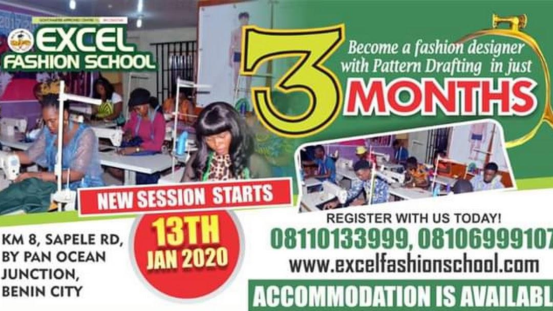 Excel Fashion School Fashion Design School In Benin City