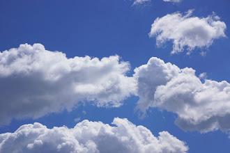 Photo: Staring up at a summer sky -- Washington, D.C.