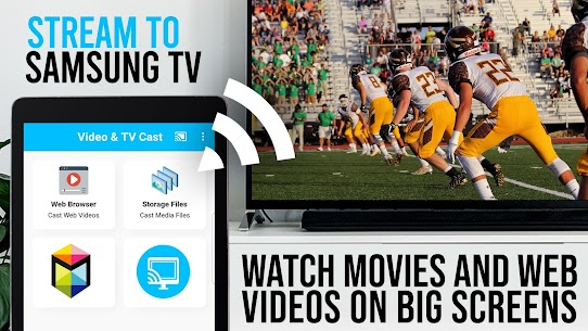 Video & TV Cast Pro Apk for Samsung TV   HD Streaming 4