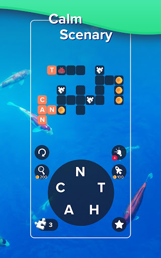 Puzzlescapes: Relaxing Word Puzzle Brain Game screenshot 5