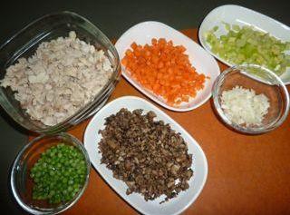 Melt butter in large saucepan over medium heat. Blend in flour, salt, pepper, and...