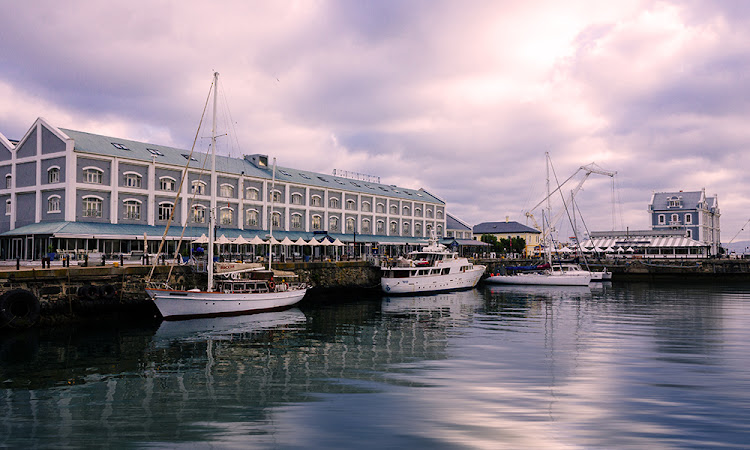 The V&A Waterfront in Cape Town.