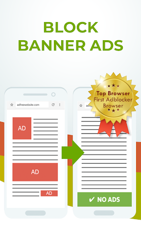 Free Adblocker Browser - Adblock & Popup Blocker 64.0.2016123125 screenshots 1