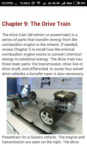 Learn Car Repairing 14.0 screenshots 1