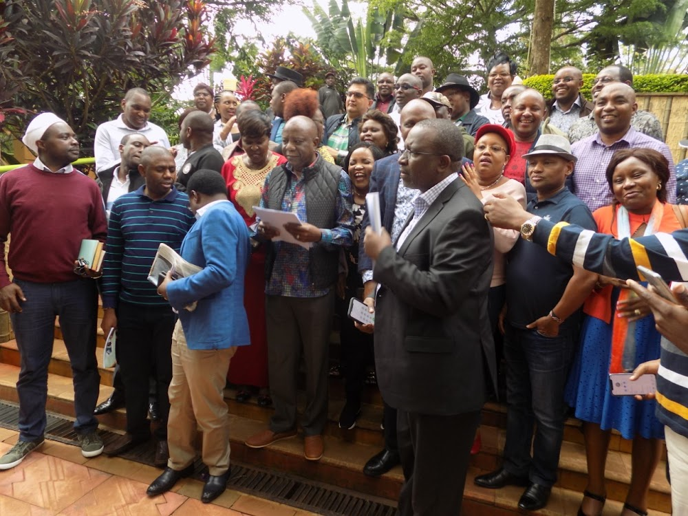 Mt. Kenya leaders want Parliament to implement BBI
