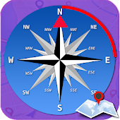 GPS Compass-Driving Direction & Best Maps