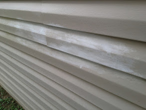 Photo: Got This Call To Day From A Home Owner In Charlotte 7/10/2014 To Inspect Damage From A $99.00 House Washing Special They Hired This Guy Listed On Groupon Found On Google , The House Was Washed Last Week When The Water Dried There Were Stripes And Markings Left On The Siding And Looked Just Like Places He Missed When They Called The Company Back To Report the Missed Areas (The Contractor Had No Idea He Had Just Taken Some of The Finish off The Siding) But Agrees To Come Back And Do A Touch Up At No Charge, Well Not Knowing Any Better He Used A Brush And Comet (an abrasive powder) And Takes Even More Of The Finest Off.You Can't See This Damage Till After The Siding Dries Completely You Should Ask Your Contractor For References And Check Them In No Way Are We Affiliated With Liable Or Responsible For Work or Damage Done By Zapit or J B Power Wash or Any Other Company In The Charlotte NC Area That's Using Our Name Pressure Washing Charlotte In There Advertising