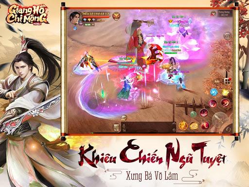 Giang Hu1ed3 Chi Mu1ed9ng - Tuyet The Vo Lam apkpoly screenshots 13