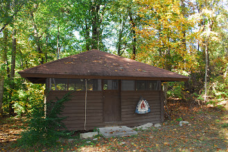 Photo: Cabin used primarily in the summertime by camp staff.