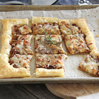 Caramelized Onion & Gruyere Cheese Tart