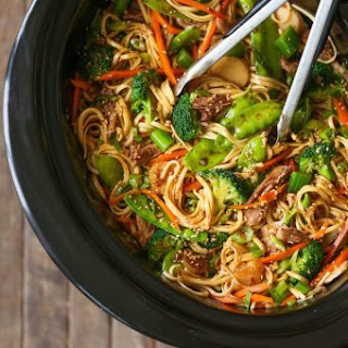 Slow Cooker Lo Mein.