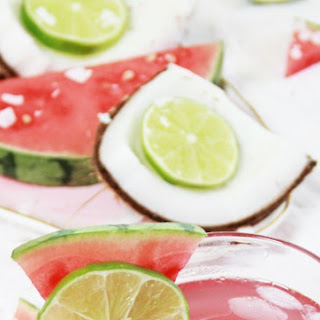 Coconut Watermelon Rum Cocktail