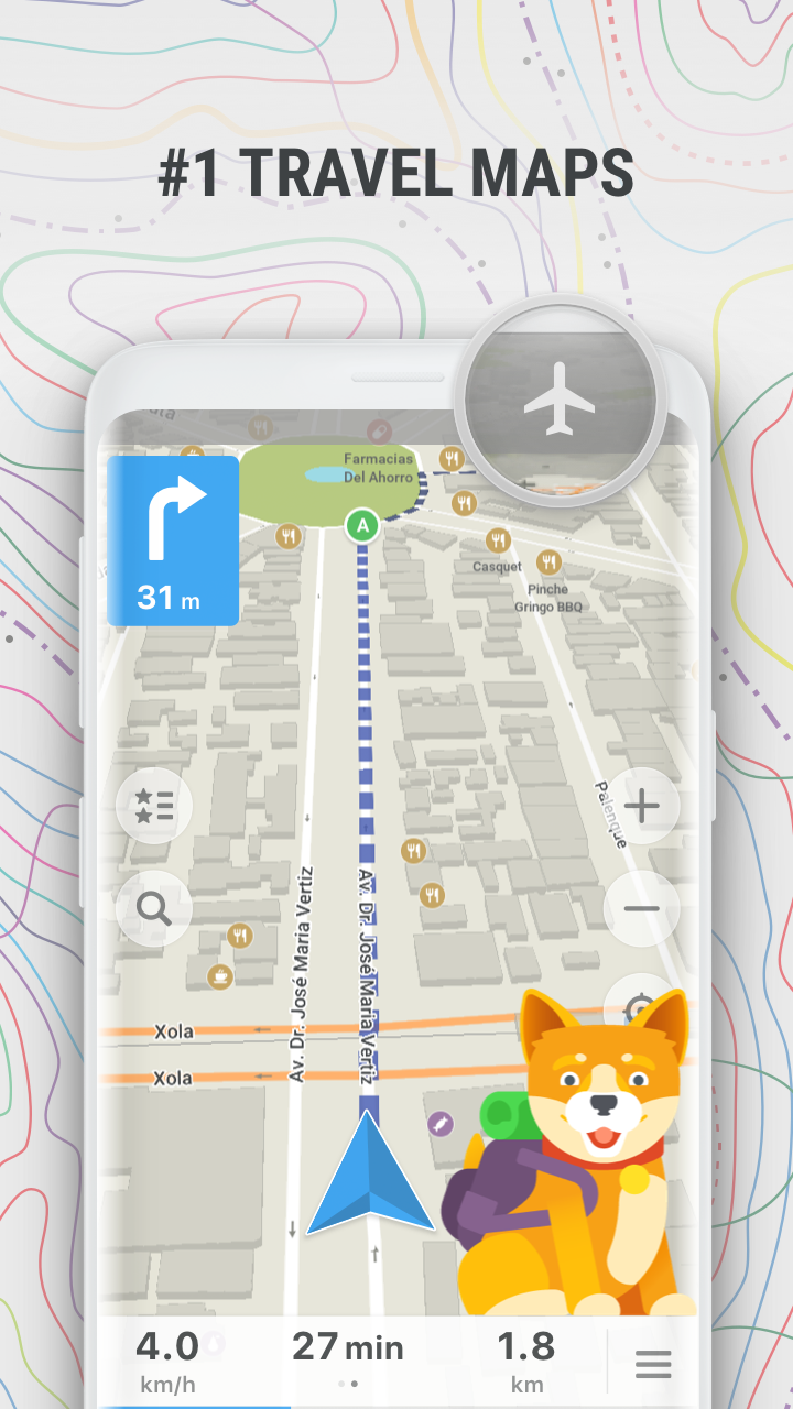 MAPS ME – Offline maps, guides and navigation APK Cracked