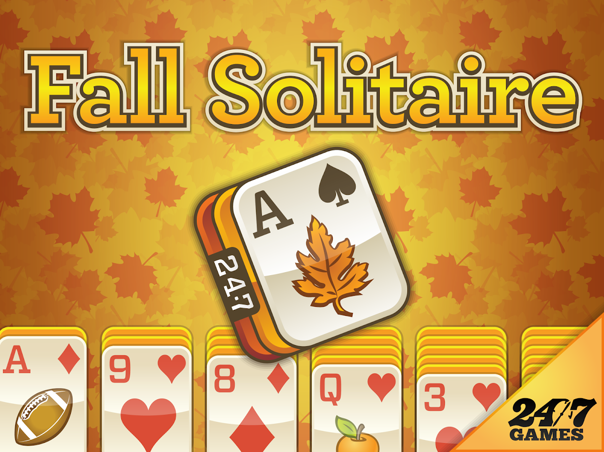 3 card klondike solitaire 24 //7 fall pictures