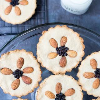 Vegan Almond Flour Cookie Tarts.
