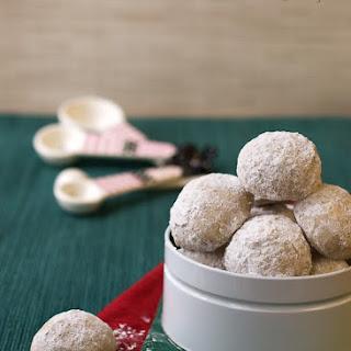 Cardamom Snowdrop Cookies.