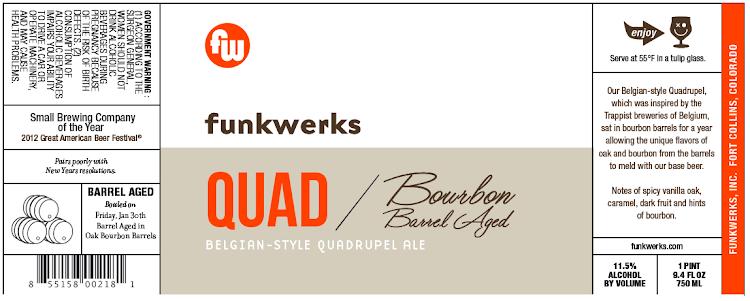 Logo of Funkwerks Bourbon Barrel-aged Quad