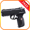 Pistol Gun Game Icon