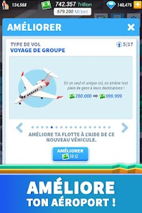 Idle Airport Tycoon - Jeu de gestion d'aéroport Capture d'écran