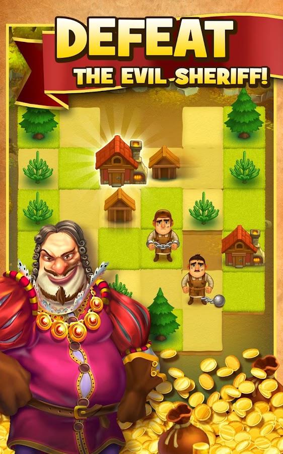 Robin Hood Legends – A Merge 3 Puzzle Game (Unreleased)- screenshot