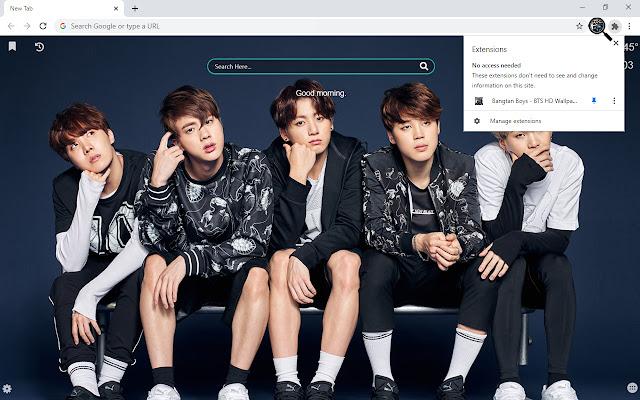 Bangtan Boys - BTS HD Wallpapers New Tab