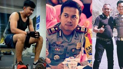 Foto-Foto Ega Prayudi Anak Tukul Arwana, Polisi Ganteng Bertubuh Kekar yang Berpangkat Mentereng dan Jarang Tersorot! - KapanLagi.com