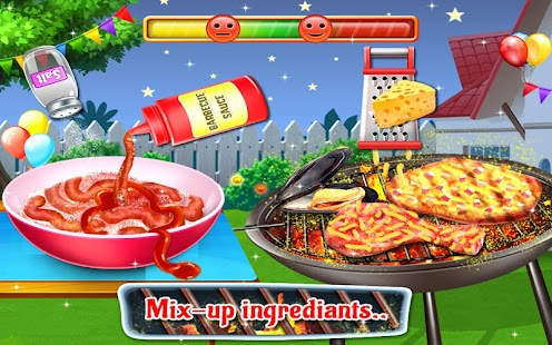Backyard bbq grill party barbecue cooking game android for What to serve at a bbq birthday party