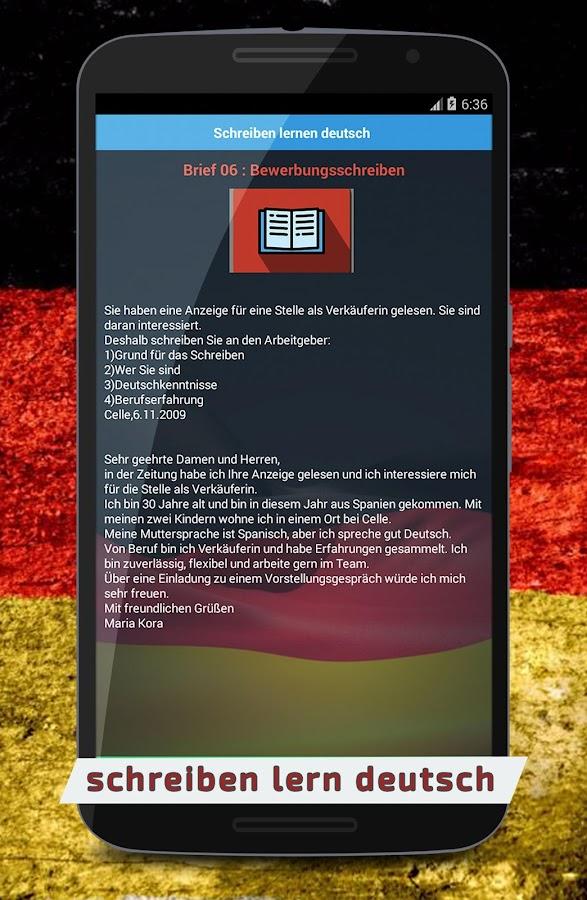 Schreiben Lern Deutsch 🇩🇪 - Android Apps On Google Play
