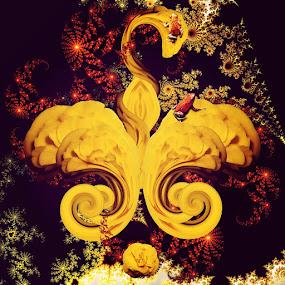 Poisen Dart Frogs 01 by Kevin Lucas - Digital Art Animals ( dreaming, dart frog, surrealism, vivid, poison, fractal, frogs, fleur de lis,  )