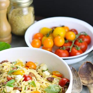 Tomato & Chorizo Orzo Salad