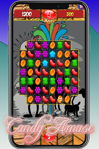 Candy Amuse - Match 3 Game android2mod screenshots 3