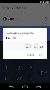 Simple Currency Calculator Widget - náhled