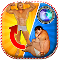 Insta Six Pack Photo Builder icon