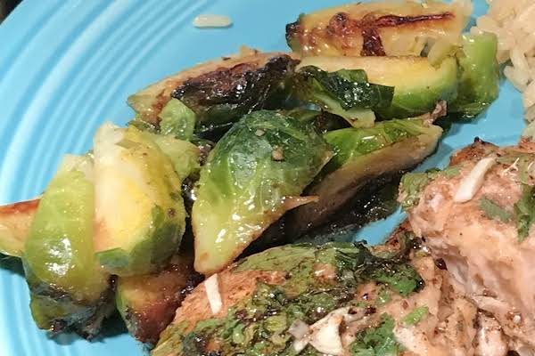 Caramelized Lemony Brussels Sprouts Recipe