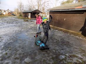 Photo: Nakonec jsme si užili i těch zimních radovánek!