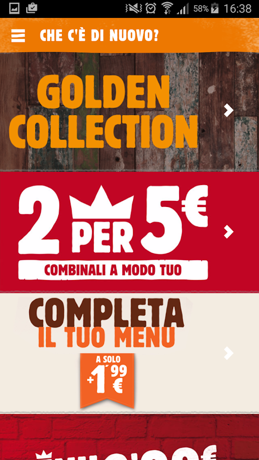 Burger King Italia- screenshot