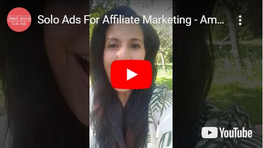 Solo Ads for Affiliate Marketing - Amit Solo Ads Testimonial