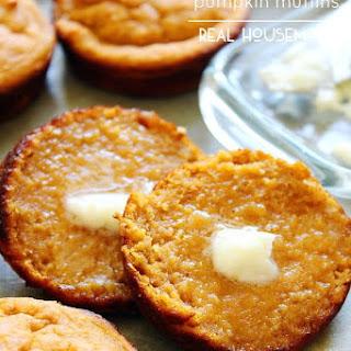 GSkinny Oat and Honey Pumpkin Muffins.