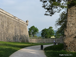 Photo: remparts de Pampelune