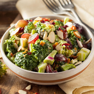Broccoli Salad With Cashew Dressing [Recipe]