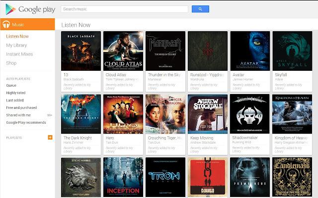 Clean Up Google Music [De-Instant Mix/Radio]