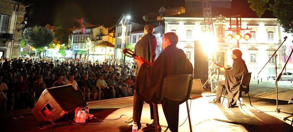 Fotos - Espetáculo de fado com o Quarteto de Coimbra - Lamego - 2016
