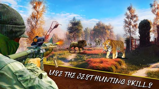 Animal Hunting Sniper Shooter: Jungle Safari apktram screenshots 1