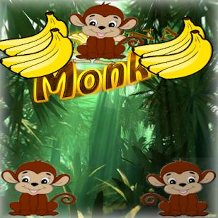Banana Monkey Free - náhled