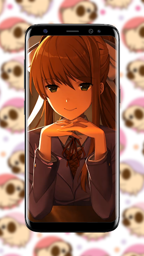 Download Monika モニカ Anime Live Wallpaper On Pc Mac With